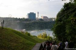 Going down the stairs to see the American Niagara Falls.jpg