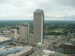 Hilton Hotel Niagara Falls Canada as seen from Skylon Tower.jpg