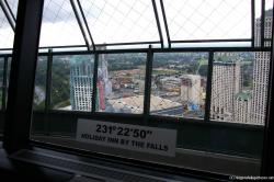 Holiday Inn by the Falls seen from Skylon Tower.jpg