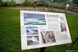 Horseshoe Falls in Art and Drama sign in Niagara Falls.jpg