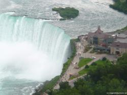Horseshoe Falls observation area as seen from Skylon Tower.jpg