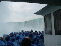 Maid of the Mist tourists enjoying the power of the Niagara Horseshoe Falls.jpg
