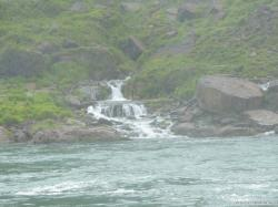 Mini Waterfalls as viewed from Maid of the Mist in Niagara Falls.jpg