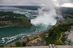 Niagara Falls Horseshoe Falls picture taken from Skylon Tower.jpg