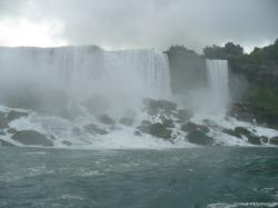 Niagara Falls photo of the American Falls taken from Maid of the Mist cruise.jpg