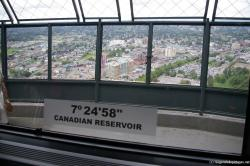 Canadian Reservoir Niagara Falls viewed from Skylon Tower.jpg