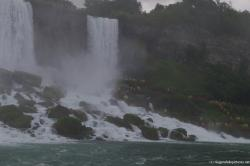 Cave of the Winds in Niagara Falls as viewed from Maid of the Mist boat.jpg