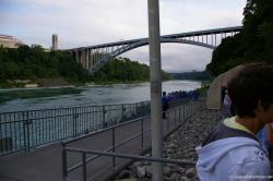 Rainbow Bridge as seen from Maid of the Mist docking area.jpg