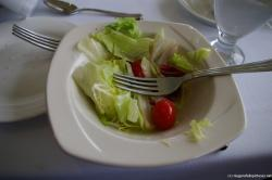 Salad plate at the Skylon Tower Revolving Restaurant in Niagara Falls Canada.jpg