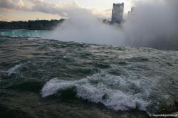 Water right before tumbling down the Horseshoe Falls of the Niagara Falls as seen from Terrapin Point.jpg